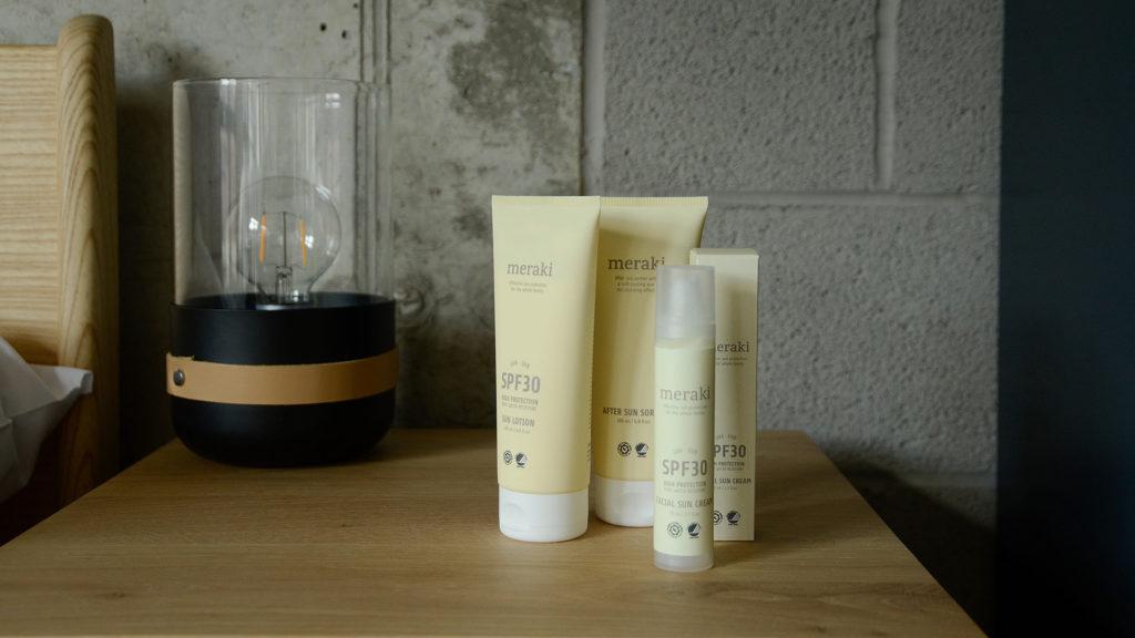 skin care spf range