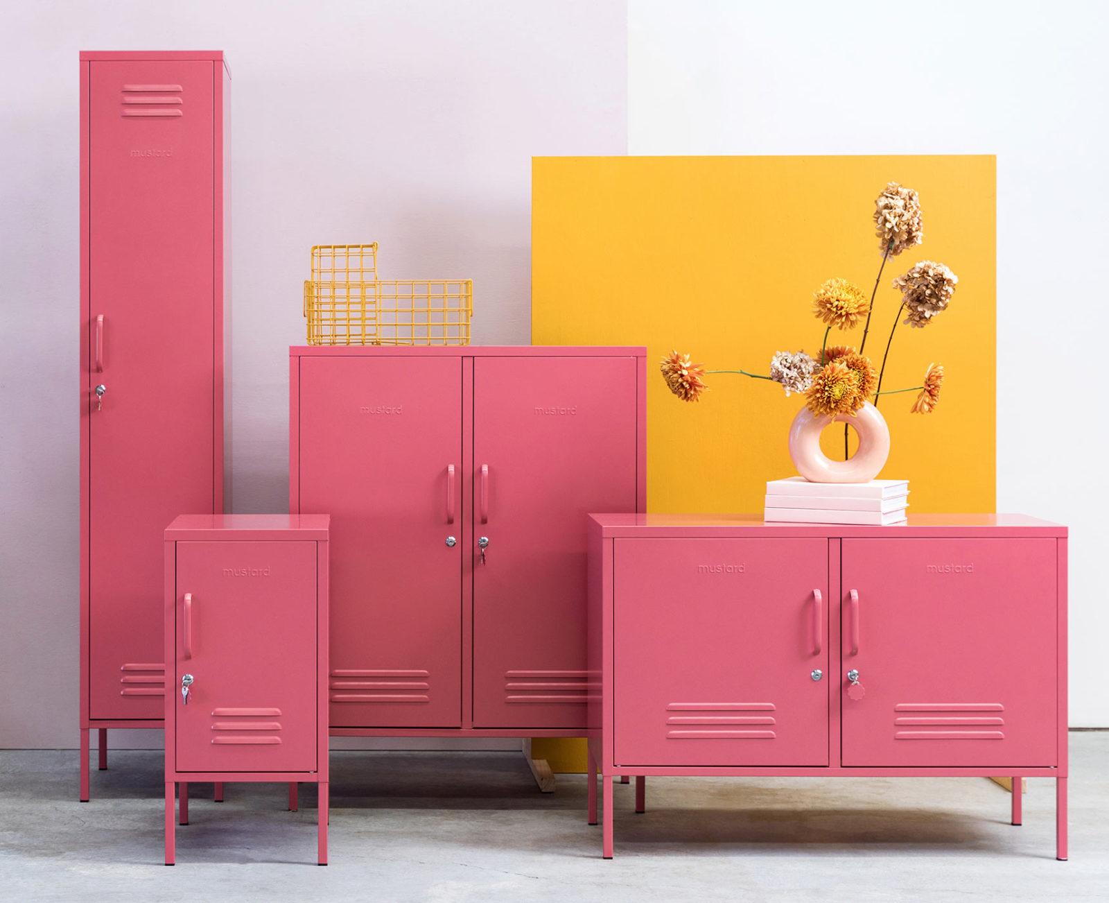 Mustard Made Pink Lockers