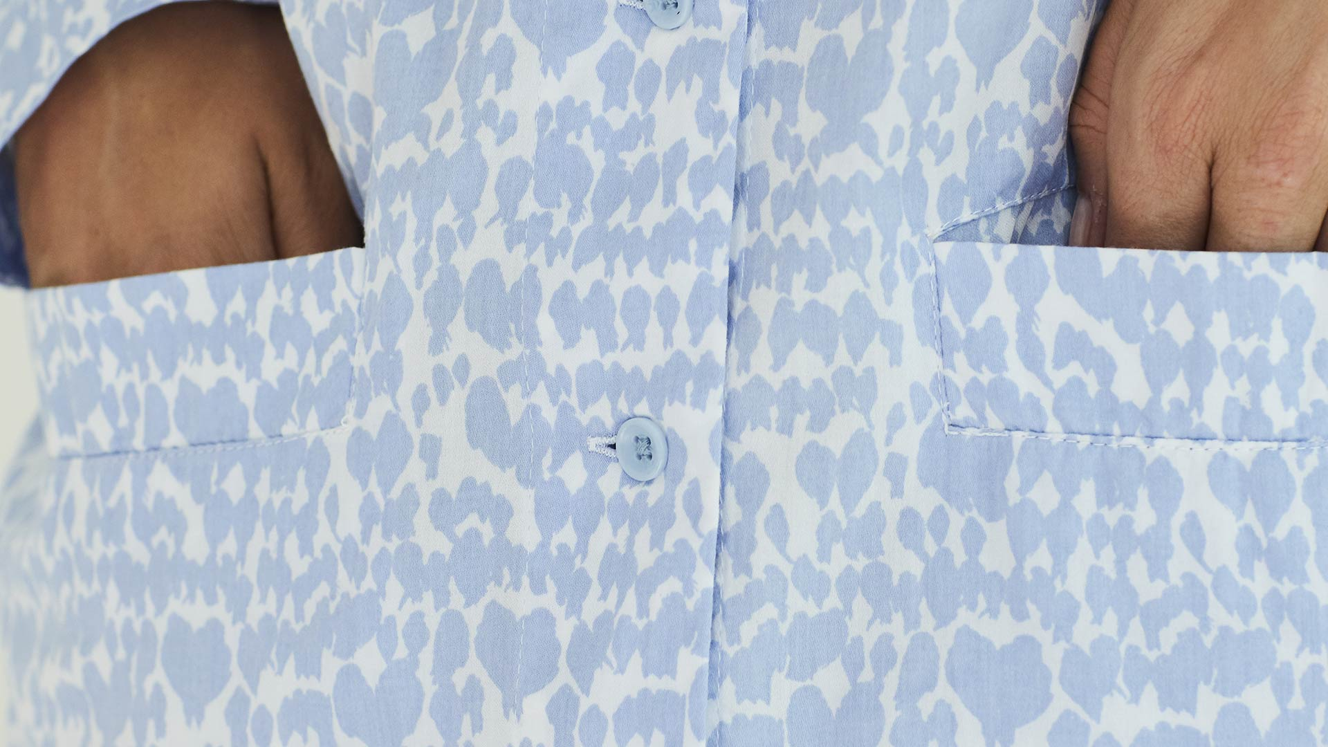 Nightwear-PJ-Set-Blue-Bird-pocket-detail