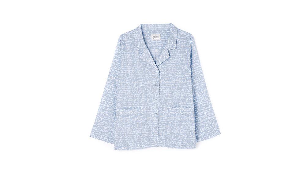 Nightwear-PJ-Set-Blue-Bird-top