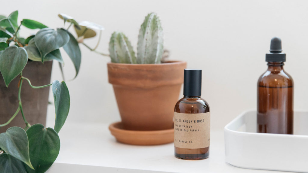 Amber and Moss Parfum