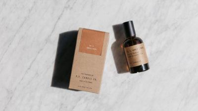 Eau de parfum - amber and moss