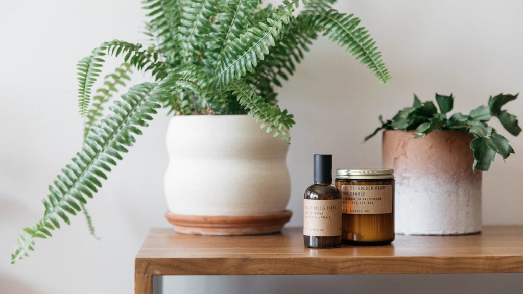 Golden Coast Room Scent and Candle