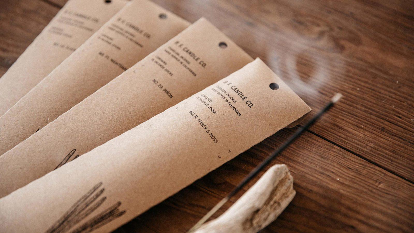 PF scented incense sticks