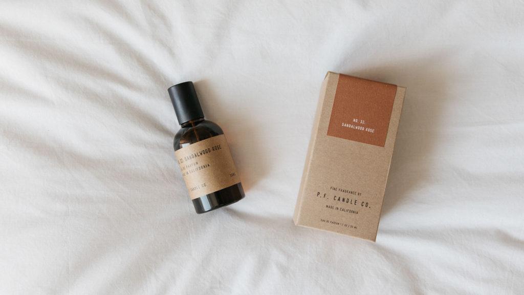 Eau de parfum - sandalwood rose