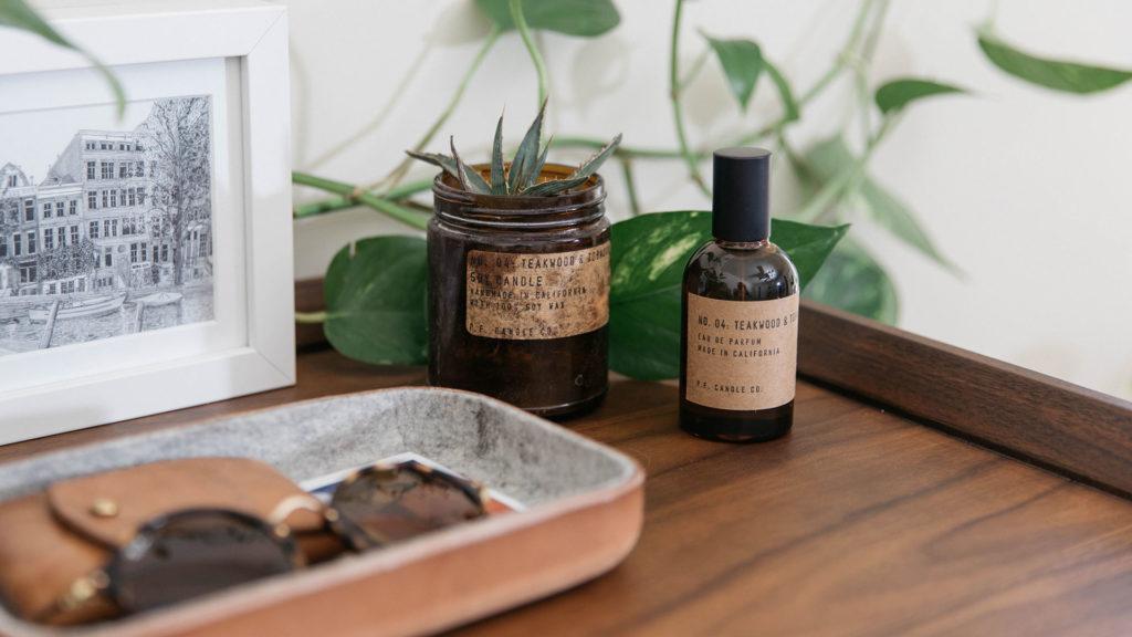 P.F. Candle Co. Teakwood and Tobacco