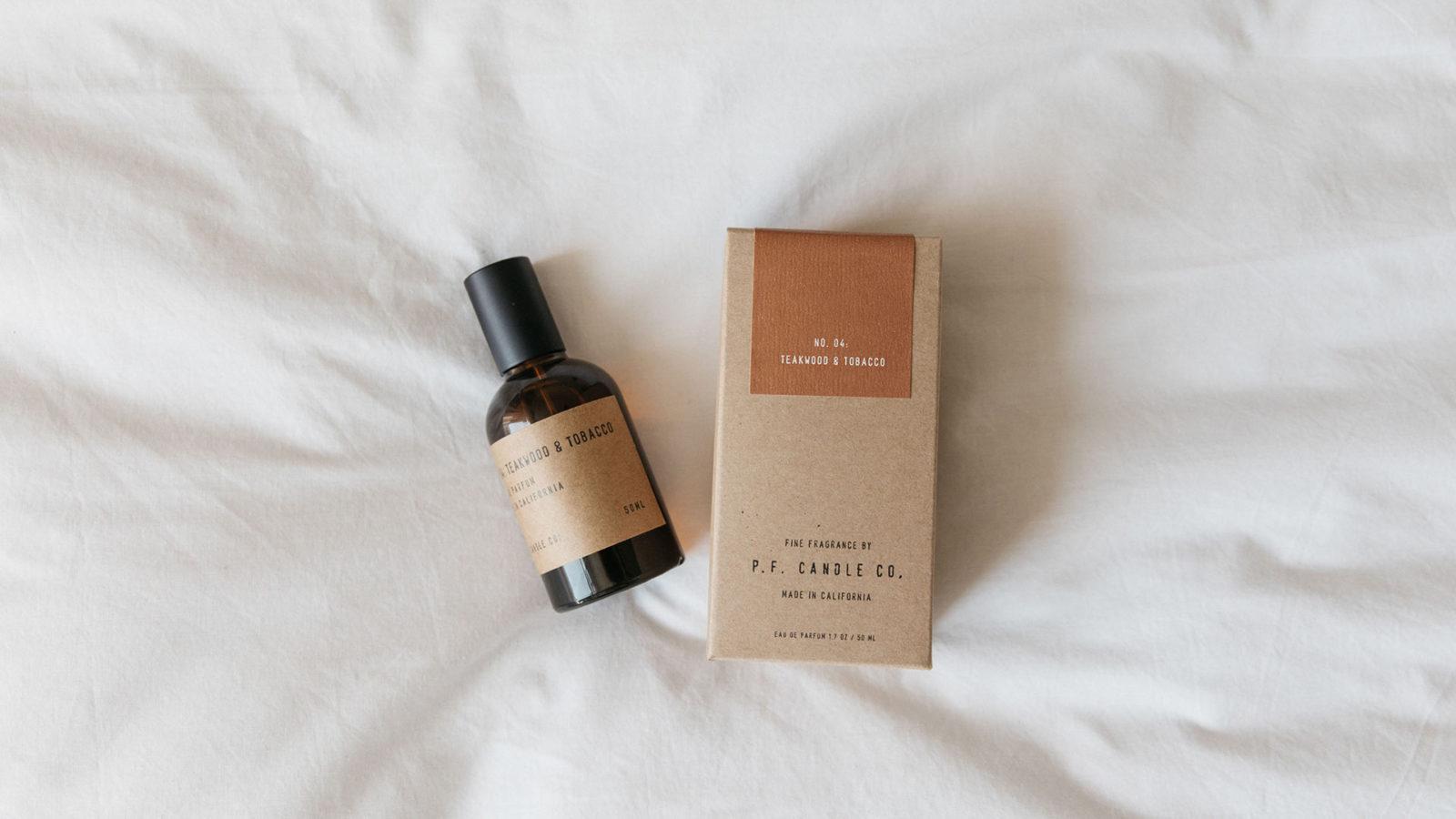 Eau de parfum - PF candle co - teakwood & tobacco