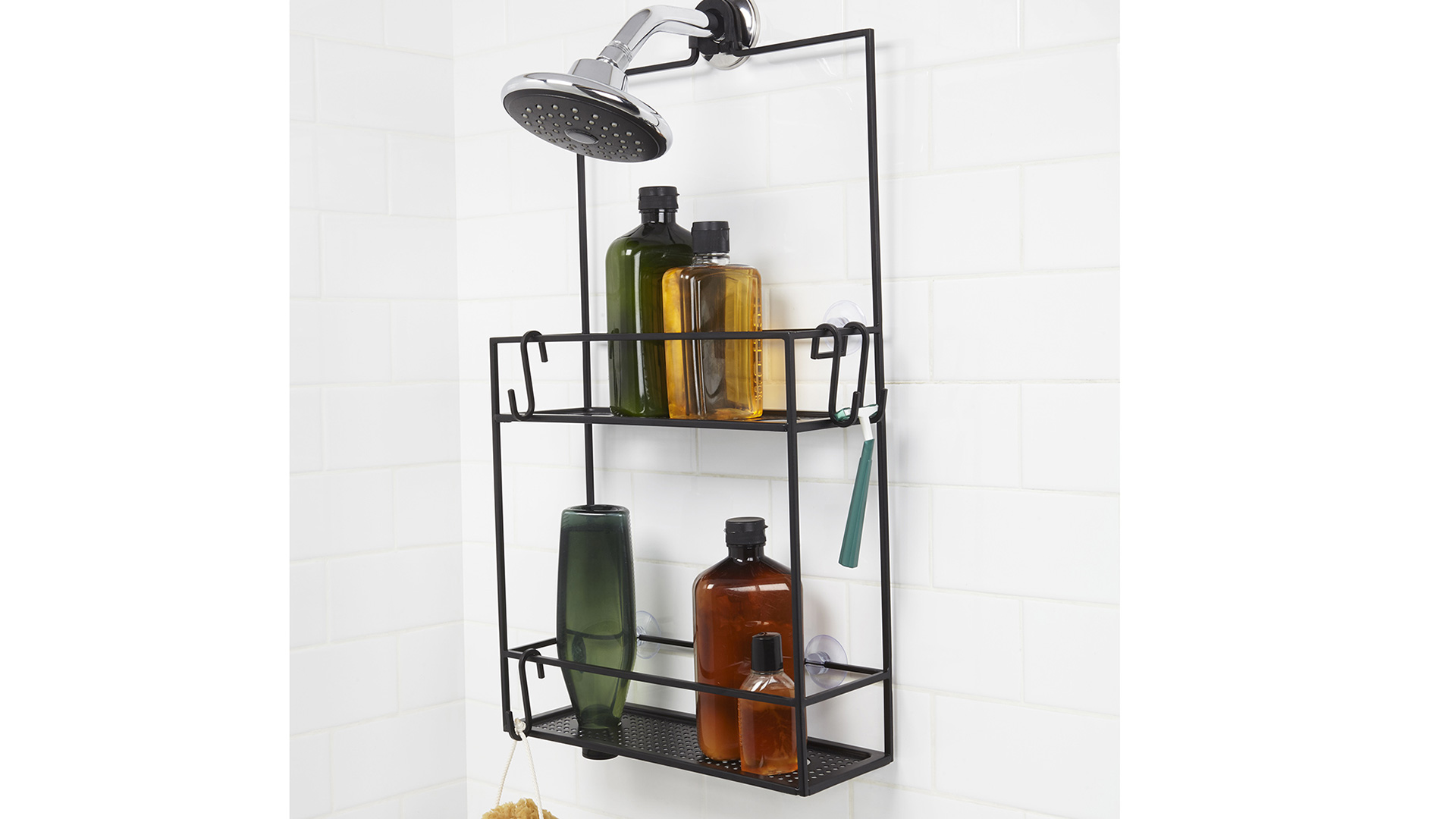 Cubiko Shower Caddy   Bathroom Storage   Natural Bed Company