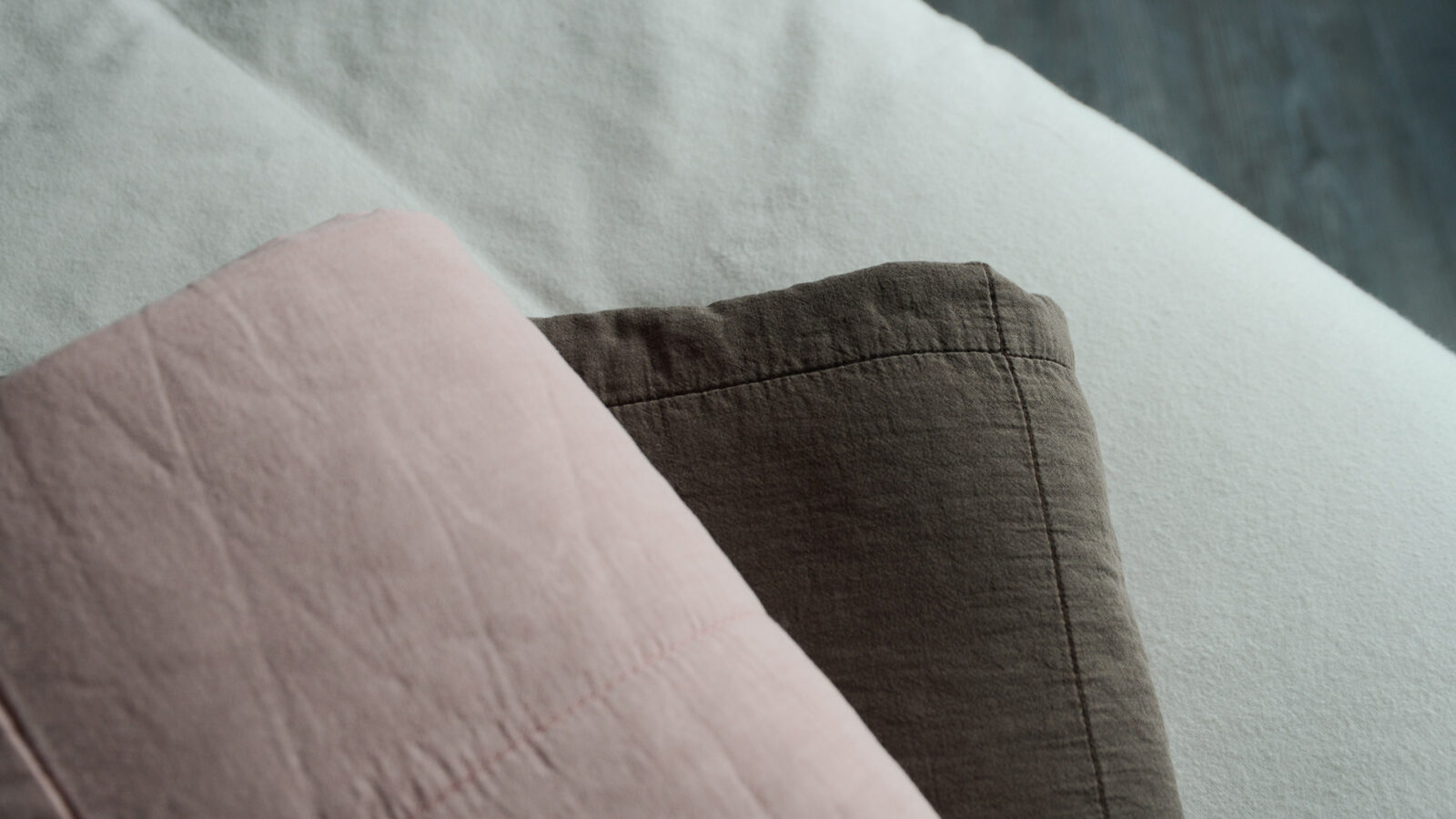 Pink and Brown Soft quilted Throws