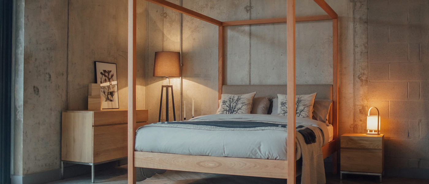 Luxury Wooden Beds 4 Poster Collection Natural Bed Company