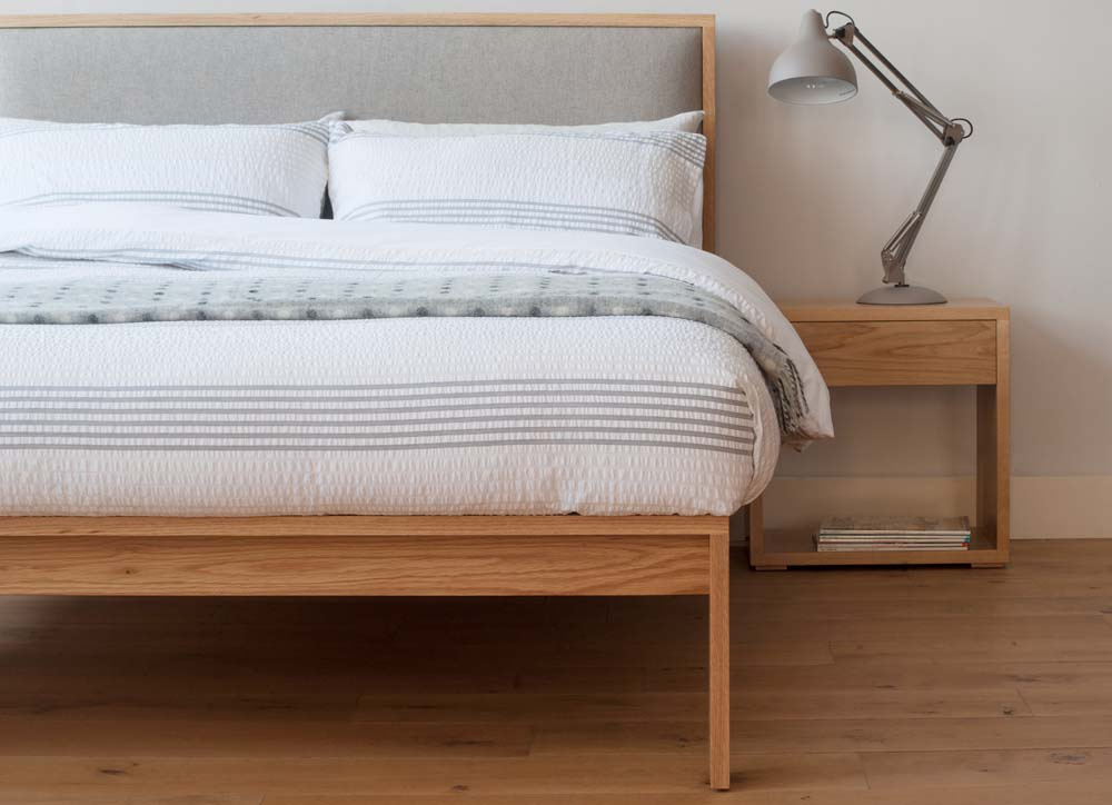 Solid wood beds - Sheffield showroom of Natural Bed Company