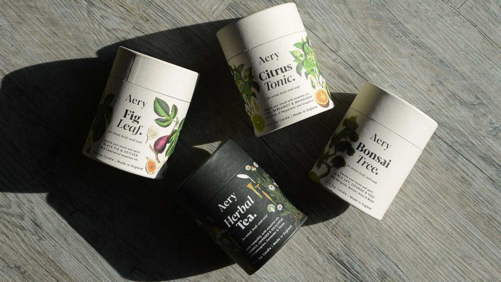 aery botanical candles