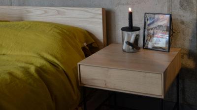 whitebird bedside table