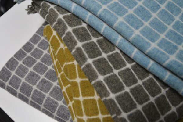Athens Throws - Modern Blankets in 4-colours
