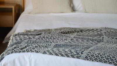 Black-and-Cream-woven-throw