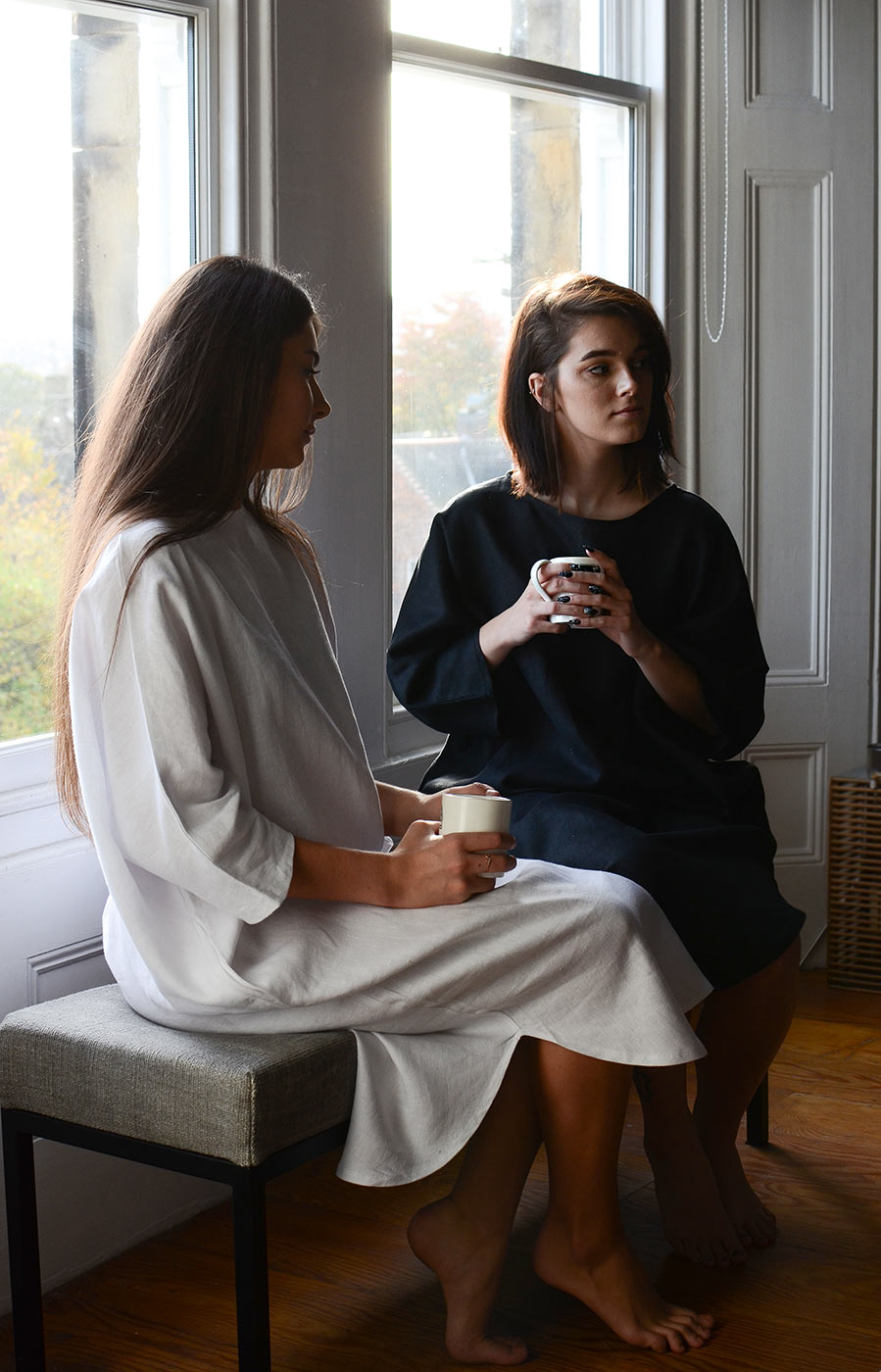 black-and-white-slouch-dresses