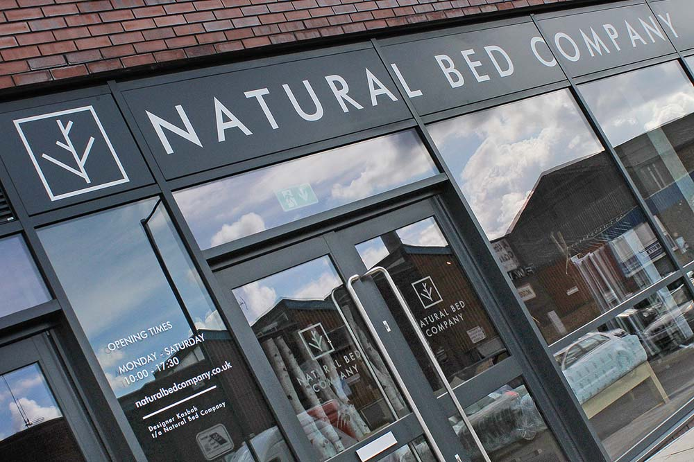 New Sheffield showroom exterior photo