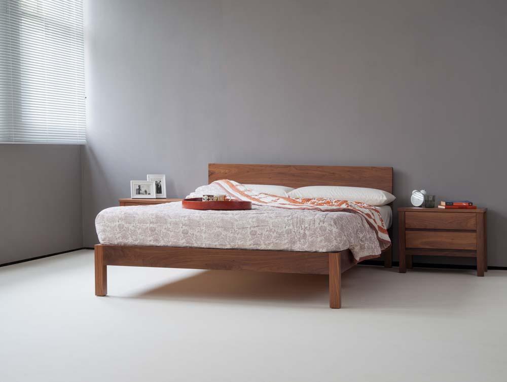 Sahara modern wooden bed