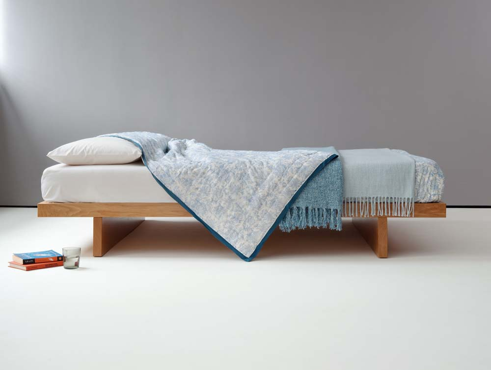 The Kyoto Bed Frame | Low Japanese Bed | Natural Bed Company