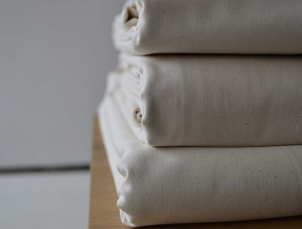Certified 100% organic cotton bedding