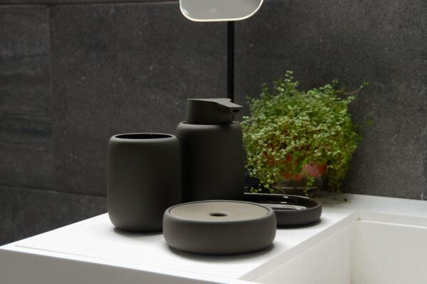 dark olive bathroom accessories