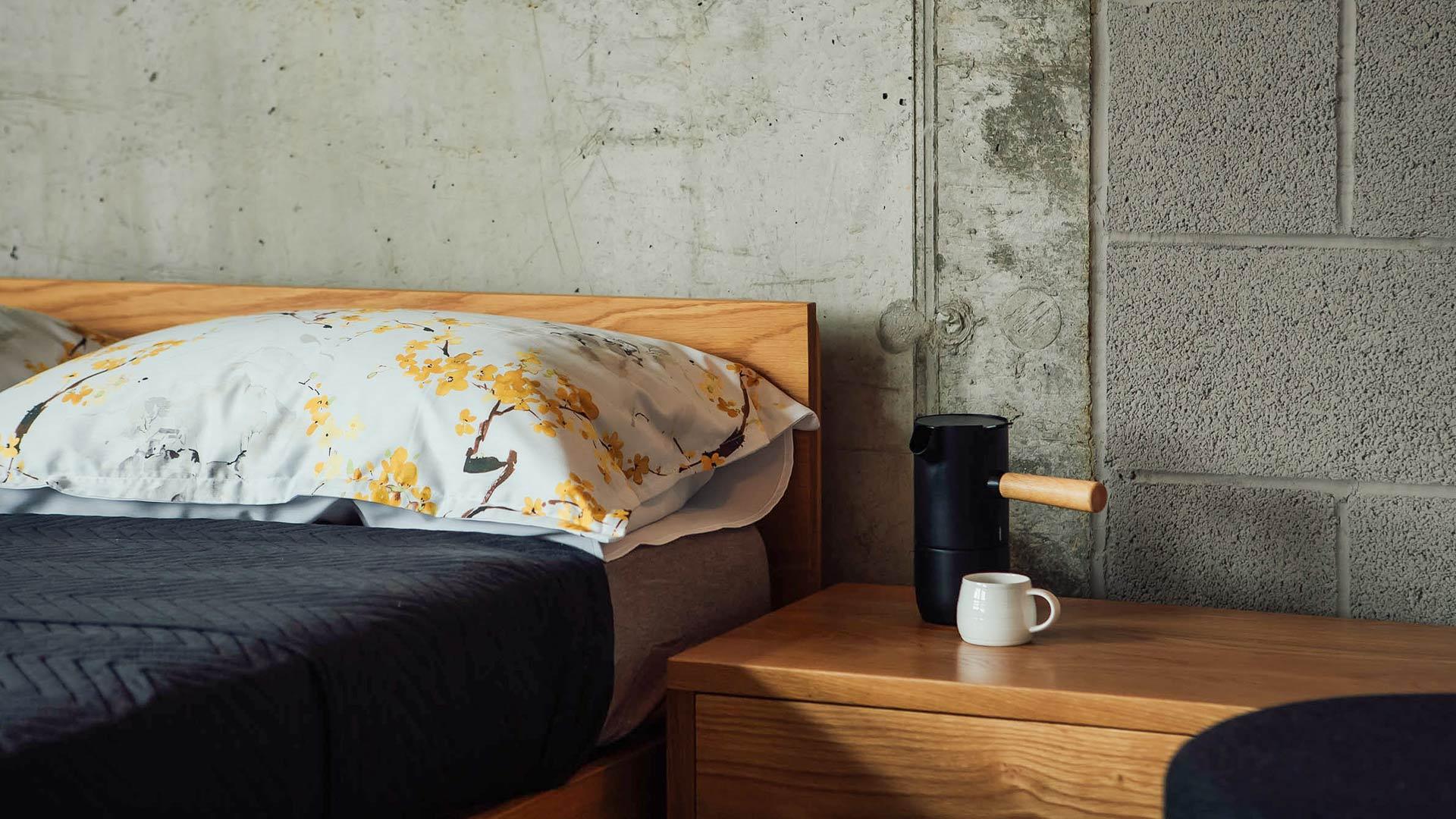 blossom-ochre-pillowcase-detail