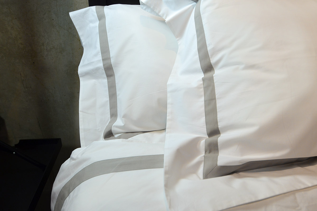 boutique-hotel-collection-ivory-taupe-bedding fro. Natural Bed Company