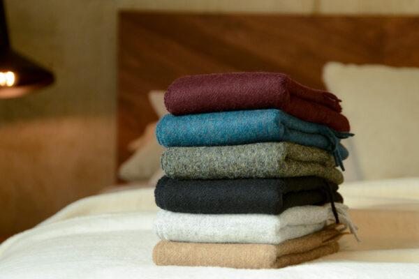 Bronte pure merino wool scarves