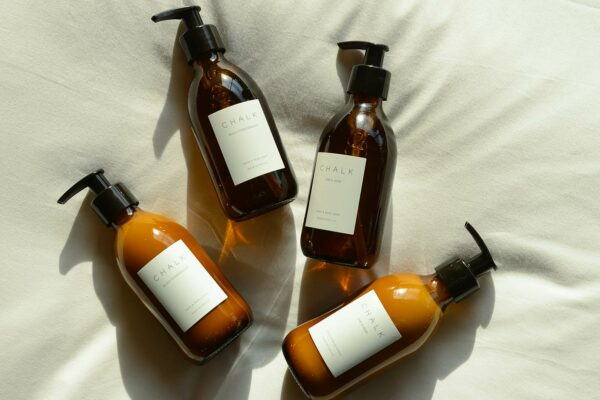 luxury chalk scented toiletries