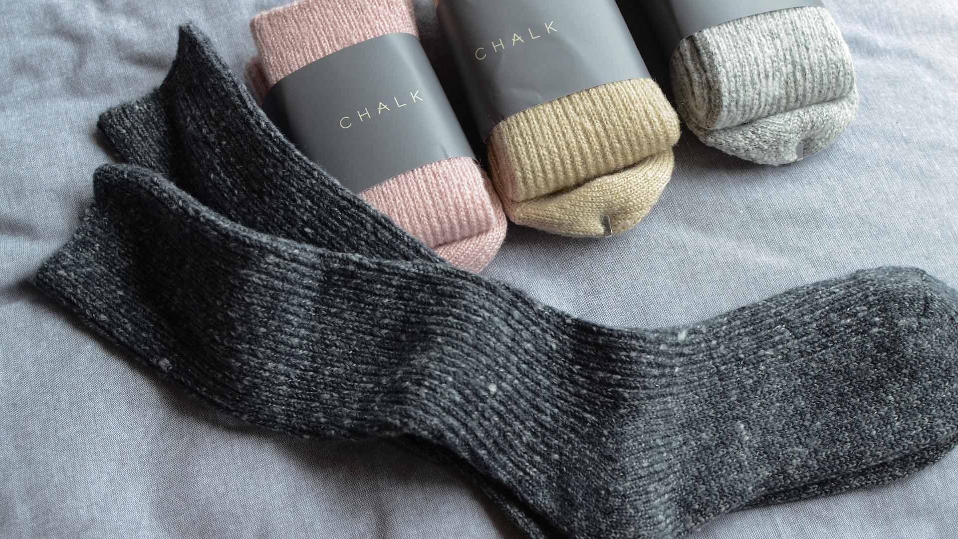 Soft And Cosy Socks Chalk Loungewear Natural Bed Company