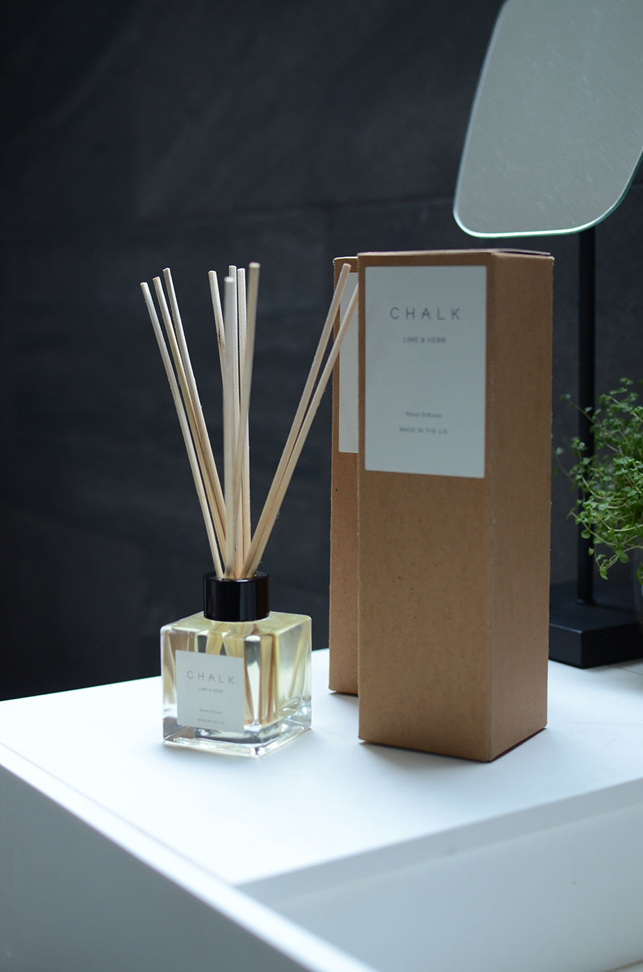 chalk scented reed diffusers
