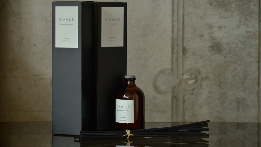 scented room diffusers from Chalk