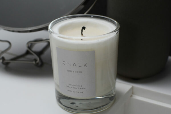 chalk-scented-candle