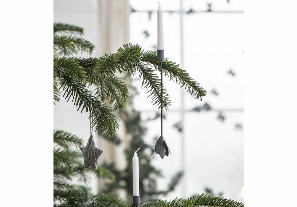 christmas tree candle holders
