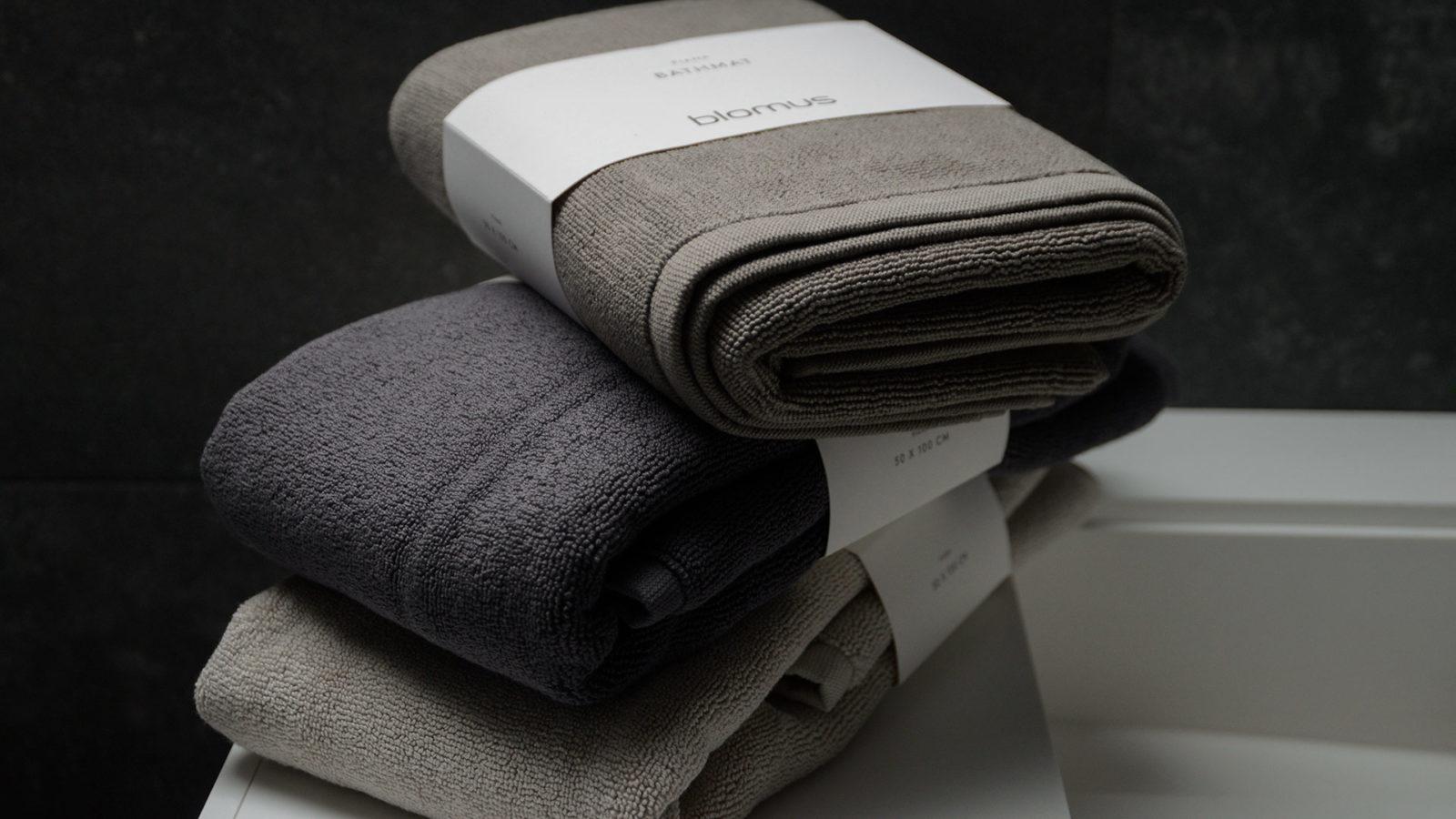 neutral colour bath mats