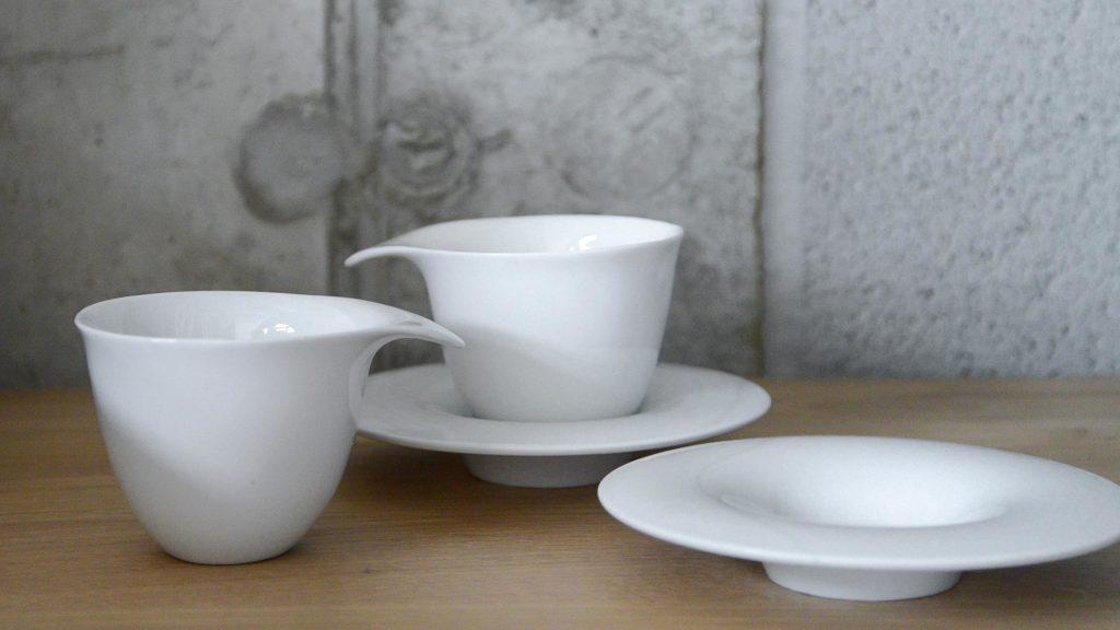 modern tea cups