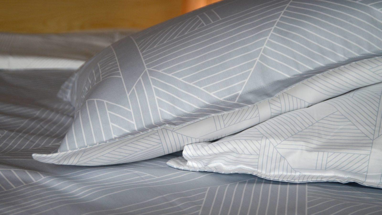 silver grey duvet set