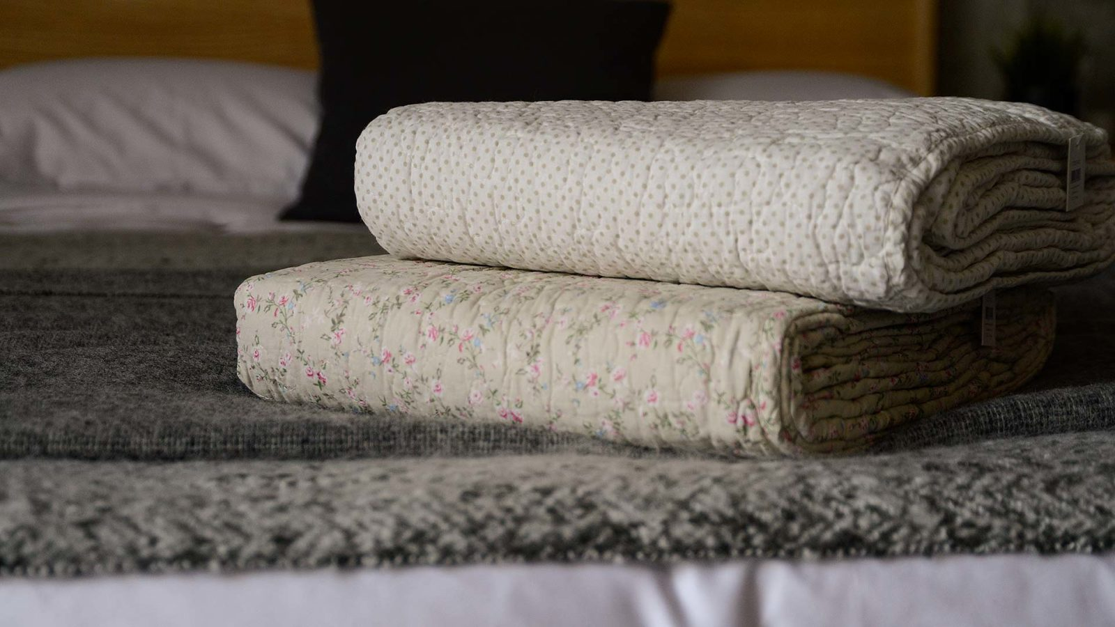 pretty quilted blankets