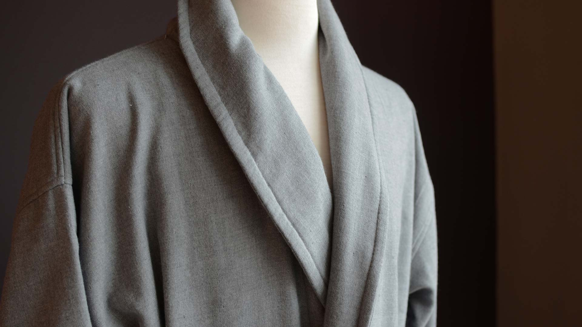 Men S Cotton Towelling Robe Robes Natural Bed Company