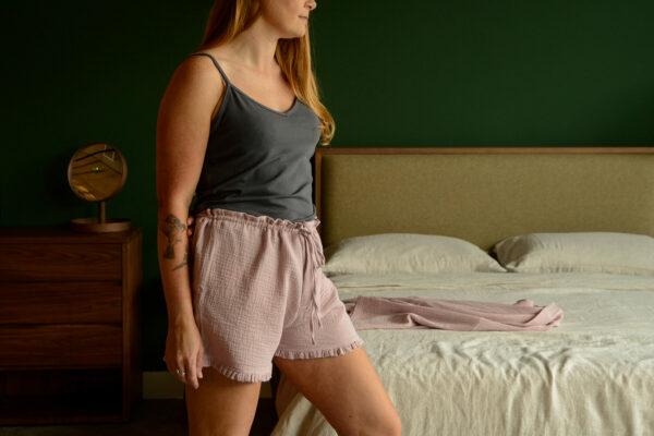 Sleep Shorts & Camisole Set