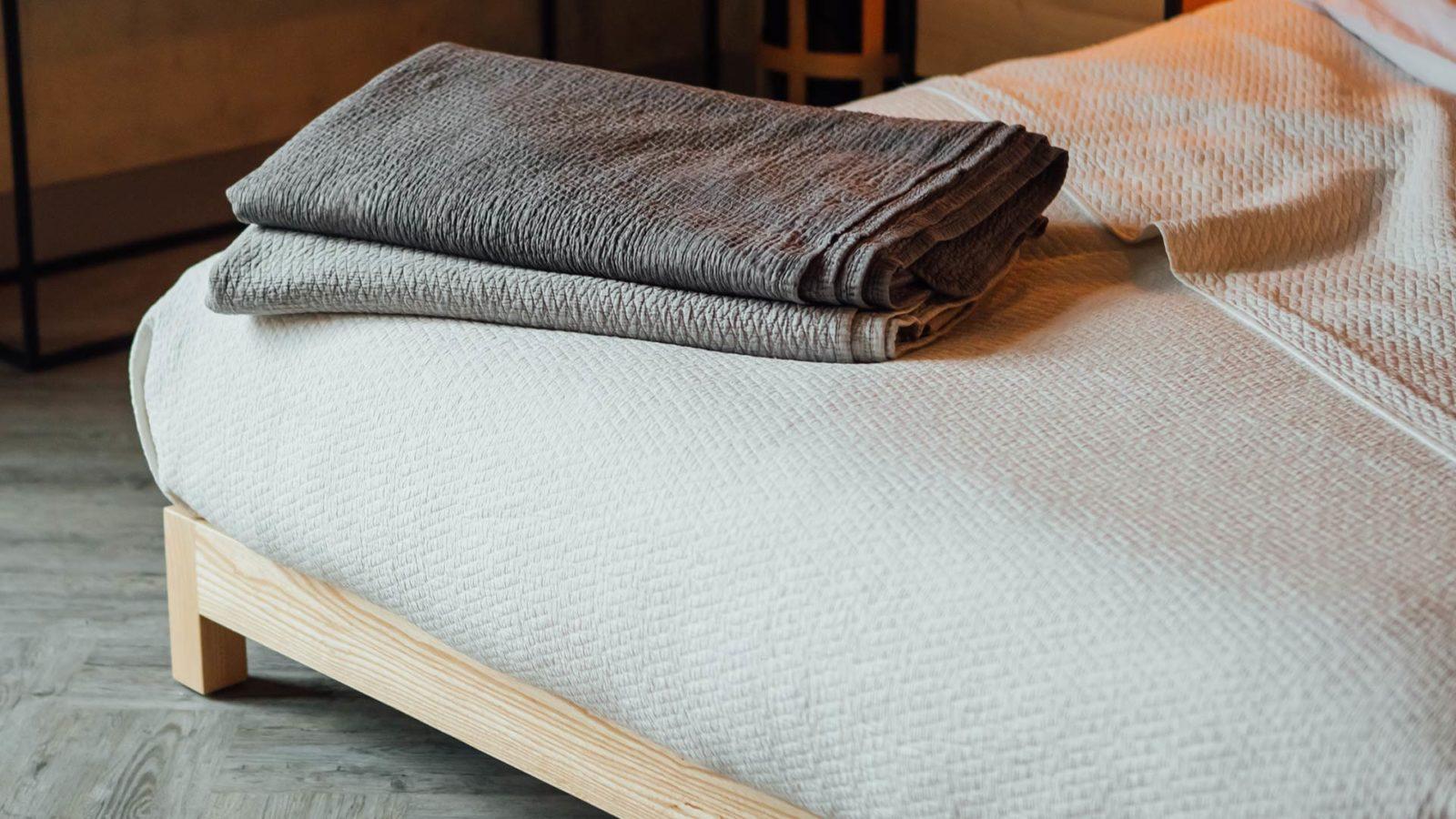 Textured bedspreads