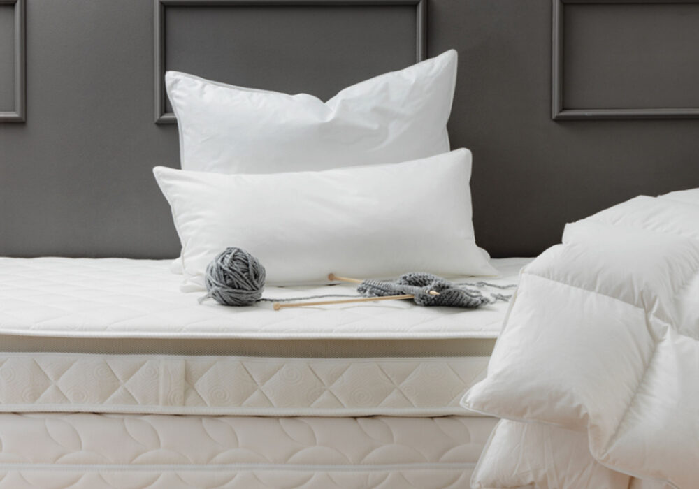 luxury OEKO-TEX certified Canadian Goose Down duvet and pillows