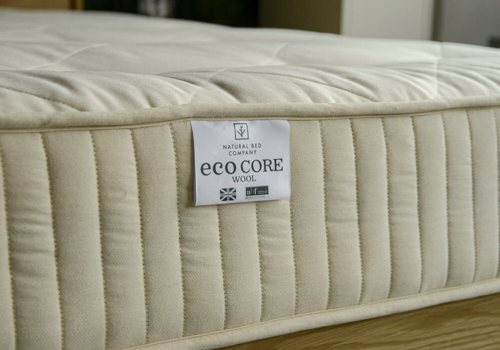 Eco core natural latex 2-sided mattress one side Medium Firm, the other Xtra Firm