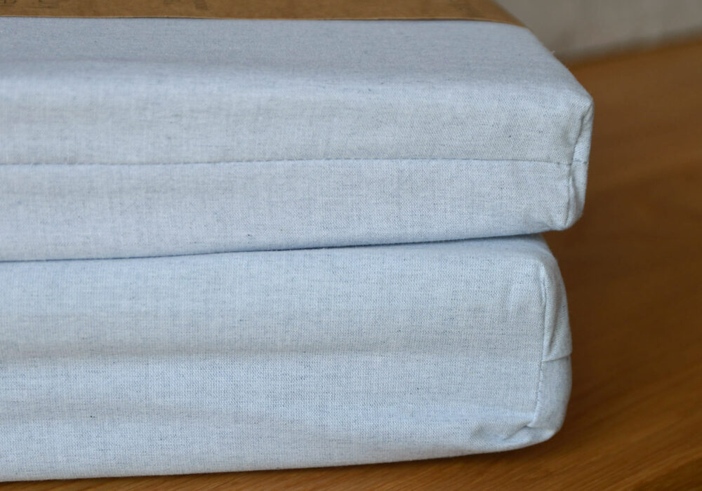 Eco Bedding made from 100% recycled denim fibres