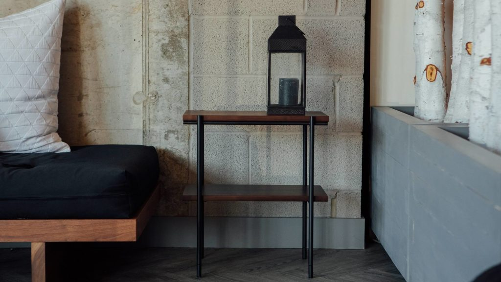 ethnicraft-2-tier-walnut-side-table