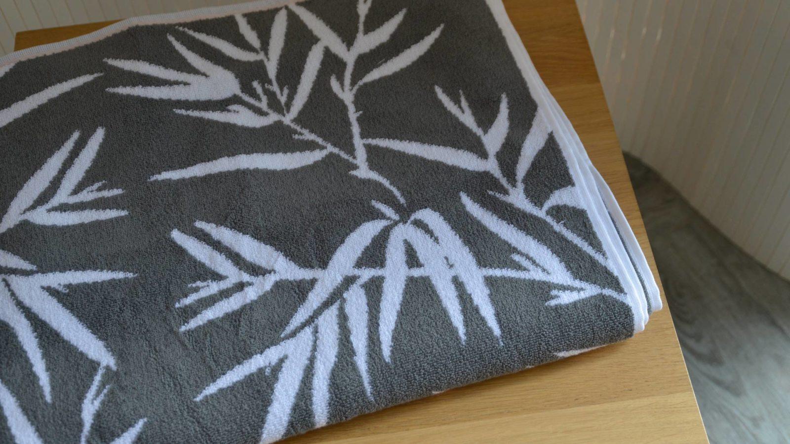 Bamboo Pattern Towel Granite