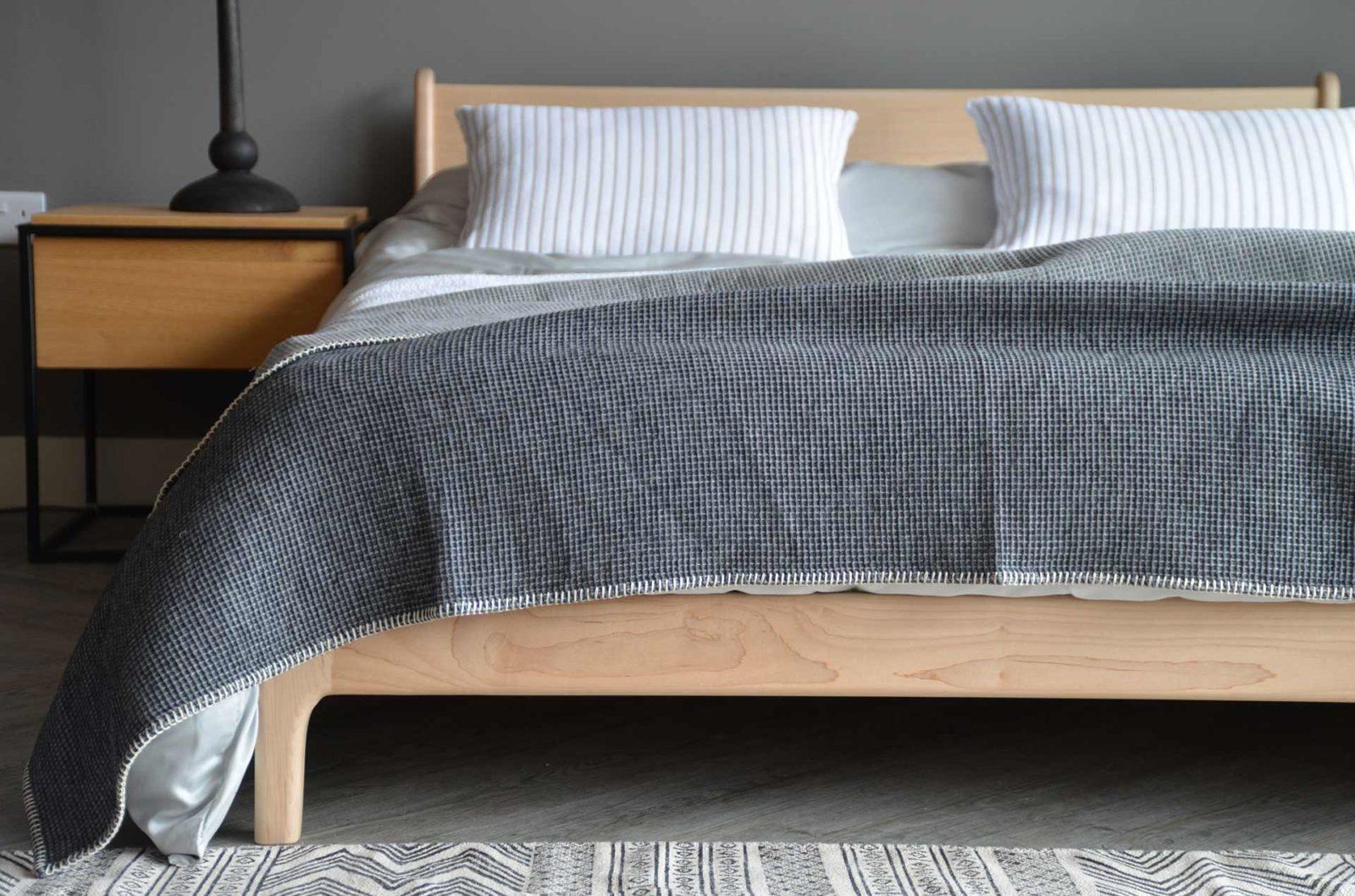 reversible waffle weave blanket