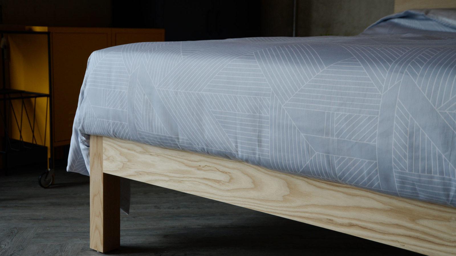 pale grey bedding