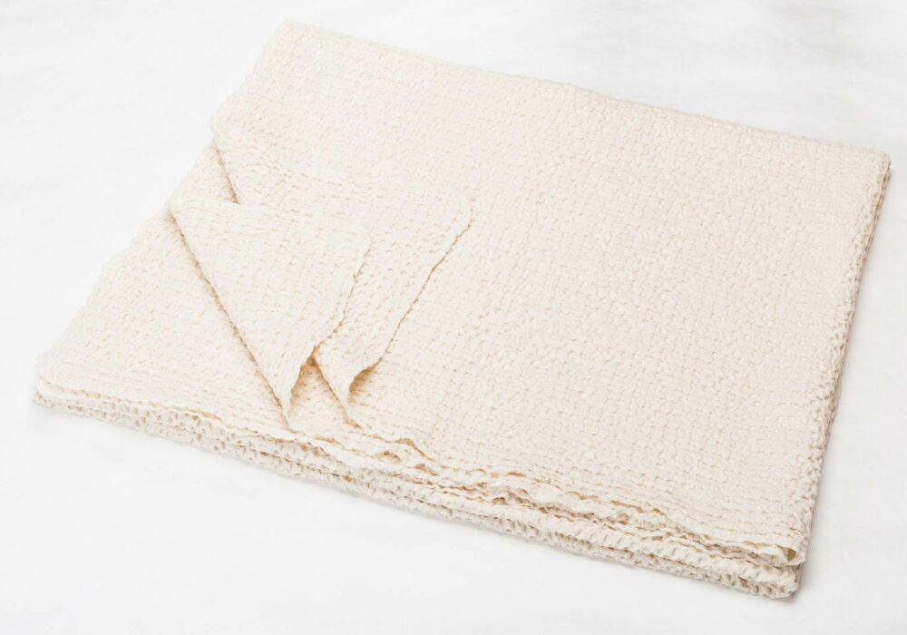 honeycomb-weave-throw-cream