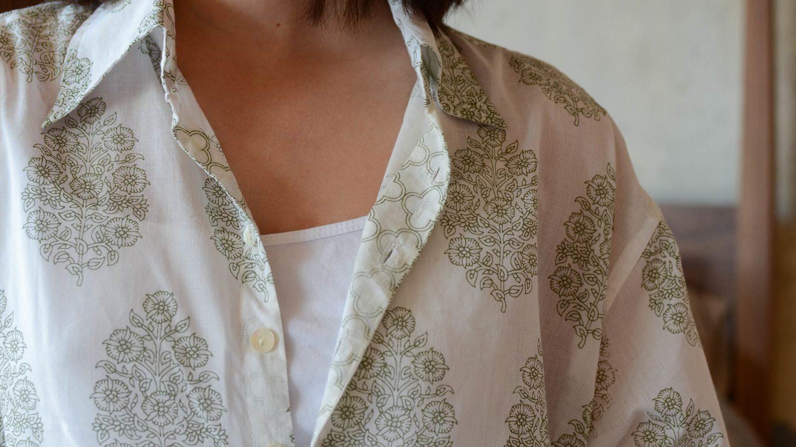 ivory-&-green-block-print-nightshirt
